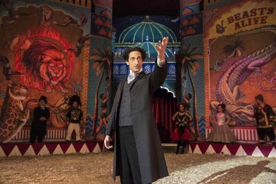 Adrien Brody stars in the TV mini-series 'Houdini.'