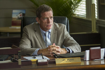 Thomas Haden Church in TriStar Pictures' Heaven is for Real.