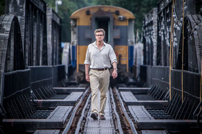 On the right track: Colin Firth revisits his traumatic past in The Railway Man.