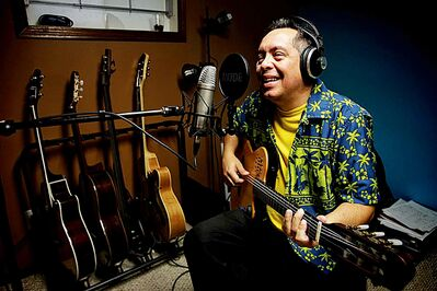 Brazilian musician Marco Castillo has been making sweet sounds since he moved to Winnipeg.