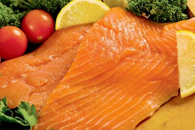 Wild salmon is rich in omega-3 fatty acids, which is great for keeping your heart healthy.