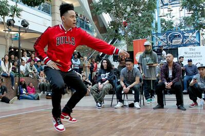 Hip hop dancer Jonel Fabro of The Maples is competing in the World  DanceSport Games in Taiwan.