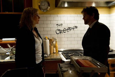 Louis Ferreira as Det. Oscar Vega, with Kristin Lehman as Det. Angie Flynn.
