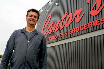 Ed Cantor, current owner of Cantor's Meats.