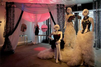 Some of Merluza's work. Everything Just in Couture uses is couture for their weddings. The business is a one-stop-shop for brides.