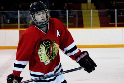 Winnipeg Hawks forward Cody Glass currently sits third in Winnipeg AAA Hockey Bantam Division 1 scoring.