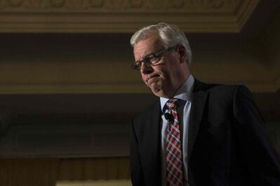 The internal pressure on Premier Greg Selinger to step aside is such that he cancelled a trip to China this week as part of a Canadian trade mission.