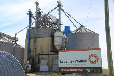 The Legumex Walker plant in St Jean Baptiste.