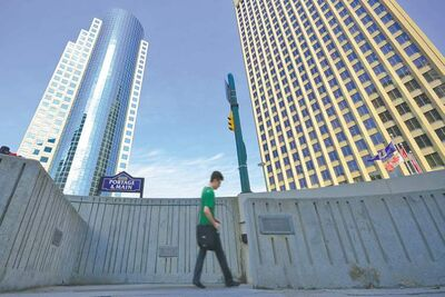 The barriers at Portage and Main enhance the perception of lack of safety and isolate that part of the downtown from others in the area.