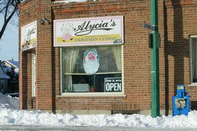Alycia's Ukrainian Cuisine is seen in 2007. (Marc Gallant / Winnipeg Free Press files)