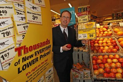 Safeway's John Graham: 'net benefit'