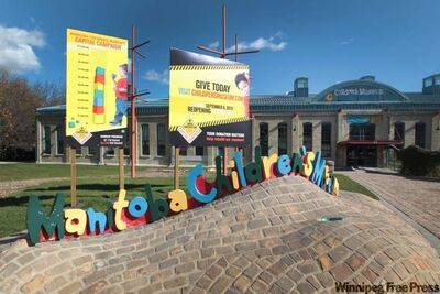 The $9-million renovation to the Manitoba Children's Museum at The Forks is slated to be done in time for the April 27 reopening.