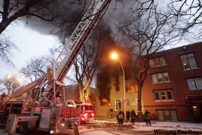 The fire at 577 Sherbrook St. injured 19 people and left dozens of residents with nothing but the shirts on their backs.