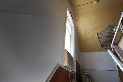 A rundown rooming house on Pritchard Avenue is home to a number of less-fortunate Winnipeggers.