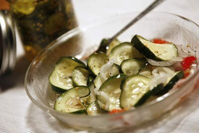 Freezer Bread and Butter Pickles