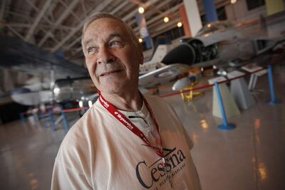 Gerry Suski spoke fondly at the Western Canadian Aviation Museum of the impact of Neil Armstrong, his famous words and the 1969 moon landing.