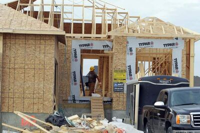 Housing starts in Manitoba and across the country have tumbled this winter. Several factors are blamed, including weather.