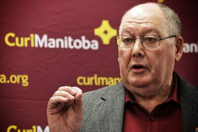 CurlManitoba President Resby Coutts announces 125th MCA Bonspiel will be the last men's only event.