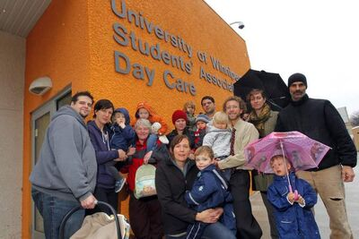 Parents with children at the U of W daycare say they should have been consulted about relocating a bus loop.