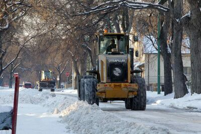 Winnipeg was was walloped by a winter storm a week before the city was to roll out a public awareness campaign on snow clearing zones.