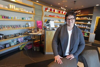 Diane Sidebottom says they seek to grow the  business but there are no plans for new outlets.