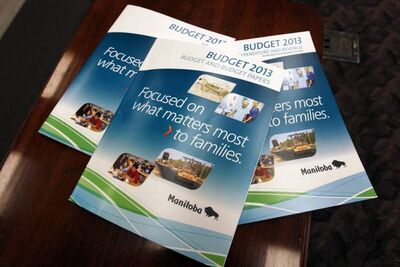 Manitoba budget documents