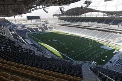 The 2013 Bombers will hit the field as a team for the first time when training camp opens Sunday, June 2 at the new stadium.