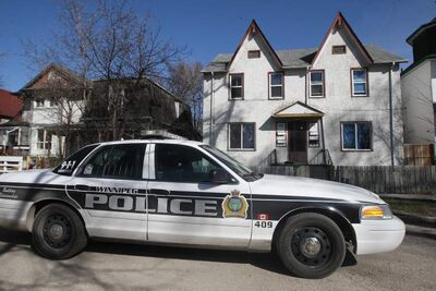 Police are doing an intensive investigation in the house at 97 Lorne Ave. in Point Douglas, reportedly finding 'significant' evidence.