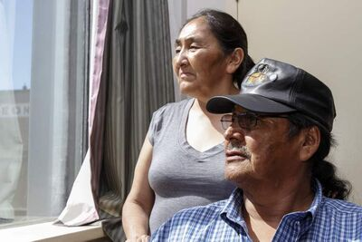 Laura and Donald Tssessaze are in Winnipeg seeking answers following the death of their daughter, Lisa Tssessaze.