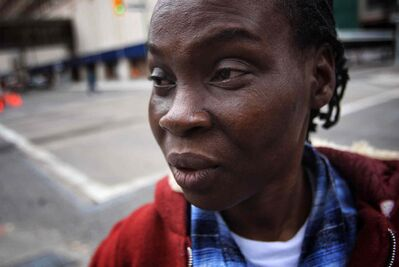 Asked what will happen if she is returned to Nigeria, Oluyemisi Akinbinu says simply: 'I would die.'  Her refugee claim has been rejected.