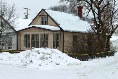 Michael Pearce was convicted of the Jan. 17, 2007, killing of Stuart Mark in this house on Alfred Avenue. His conviction has now been quashed and he is going back for another trial.