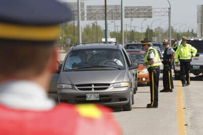 The Winnipeg Police Service and the RCMP, in conjunction with the Manitoba Public Insurance, will set up checkstops on the long weekend.