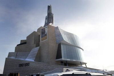 Officials want to market the emerging Canadian Museum for Human Rights as an educational destination.