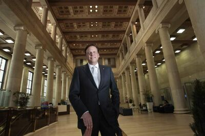 John MacAulay, a senior vice-president with BMO who has returned to Winnipeg, says he's impressed with the city's 'vitality' since he left three years ago.