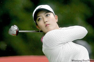 Michelle Wie was thwarted in her attempt to play Guitar Hero.
