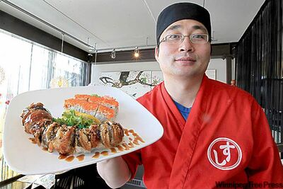 Wako Sushi's owner and chef Rick Park.