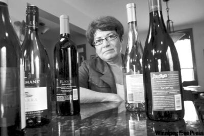 Former MP Judy Wasylycia-Leis says the highest point of her career was convincing her federal colleagues that FASD warning labels on liquor bottles were a good idea — and the lowest point was not being able to get them to implement it. At right is a warning label on an American bottle of wine.