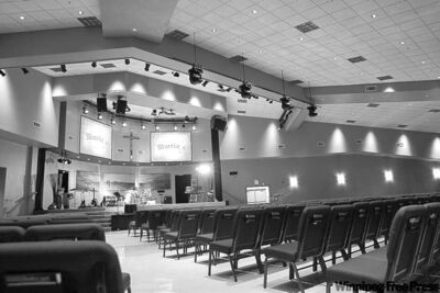 Southland Community Church in Steinbach, Manitoba Manitoba�s 2nd largest church at 59,000 square feet�This is the auditorium- See Redekop story-September 08, 2011   (JOE BRYKSA / WINNIPEG FREE PRESS)