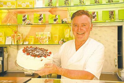 Claus Schafer, owner of Cafe Schafer in Triberg claims to have the original recipe for Black Forest cake. The 67-year-old master of confection makes up to 8 Black Forest cakes fresh every day.