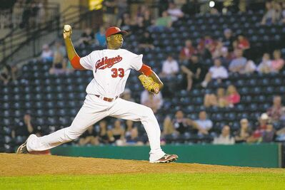 Goldeyes skipper Rick Forney said he 'wasn't disappointed' with Dexter Carter's first start of the season.