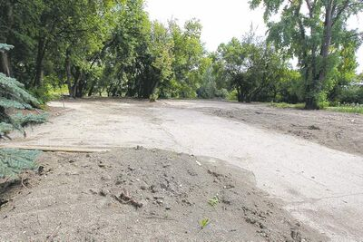 A 25-storey apartment tower is planned for this site on the south side of Assiniboine Avenue.