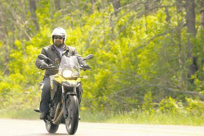 Michael Jacobs, who works for Ontario Tourism and calls Toronto home when he's not on the road, spent the better part of this past summer touring around Lake Superior on his BMW motorcycle.