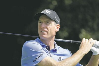 Ryder Cup member Jim Furyk took off on a birdie rampage on the front side, firing a 29 at East Lake on Friday.