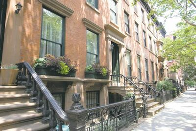 The legendary brownstones in Brooklyn are just one part of the borough�s gritty charms.