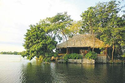 The Jicaro Island Ecolodge, a resort on Grenada Isletas in Lake Nicaragua, is a secluded island getaway.