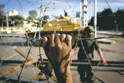 Nasser Nasser / The Associated Press
