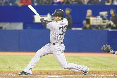 Chris Young / THE CANADIAN PRESS archives After four seasons with the Yankees, Nick Swisher is returning to his home state to play for Cleveland.
