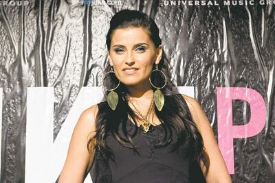 Singer Nelly Furtado