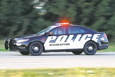 The Ford Police Interceptor is based on the Ford Taurus, but also includes many special options designed for law enforcement.