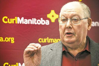 Resby Coutts says many spoke up for the bonspiel, but few showed up for a meeting.